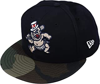 Clint Frazier Scranton/Wilkes-Barre RailRiders Player-Issued #77 Camouflage Cap from the 2018 MiLB Season - Fanatics Authentic Certified