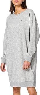 Tommy Hilfiger Oversized Open-nk Short Dress LS Vestito Casual Donna