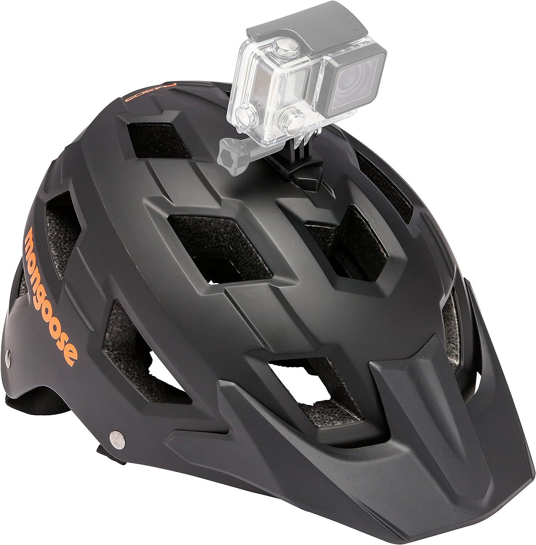 Mongoose Bike Helmet with Camera Mount