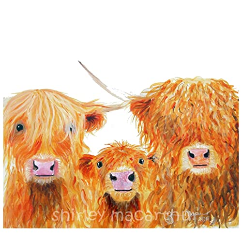 Highland Cow Art Amazon Com