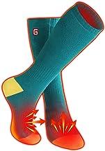 کیت جوراب گرم شده باتری قابل شارژ الکتریکی Autocastle Novelty ، با استفاده از جوراب های گرم مزاج