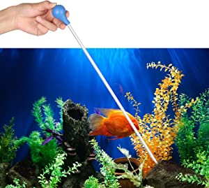 Abnaok Coral Feeder SPS HPS Feeder, 13.77 InchLong Acrylic Aquarium Choice Coral Feeder Syringe Tube for Reef/Anemones/Lionfish and Other Organisms, Liquid Fertilizer Feeder Accurate Dispensing Spot