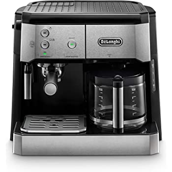 DeLonghi BCO 421.S cafetera automatica, 1750 W, 1 Liter, Acero Inoxidable, Negro, Plata: Amazon.es: Hogar