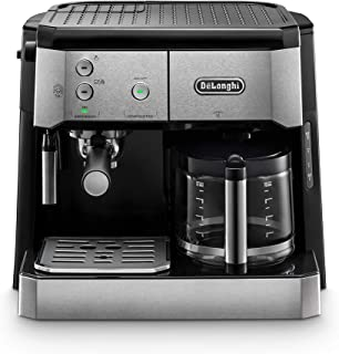 Delonghi BCO421.S Dual Function Coffee Machine Espresso And Drip Coffee