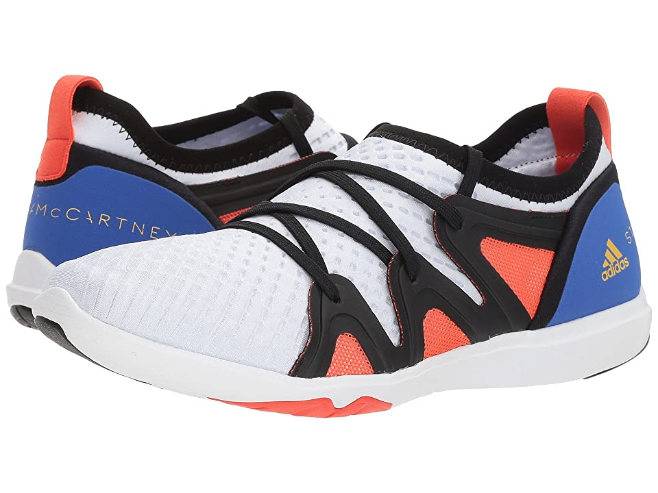 adidas by Stella McCartney Crazy Move Pro (Core White/Hi-Res Blue S18/Semi Solar Red) Women