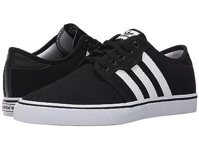 adidas Skateboarding Seeley (Black/White/Black) Men