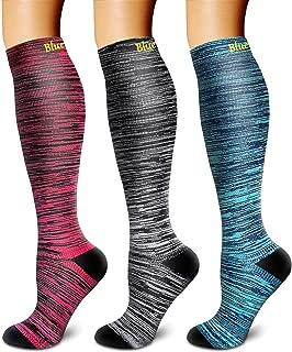 Compression Socks Women & Men - Best for Running,Medical,Athletic Sports,Flight Travel, Pregnancy