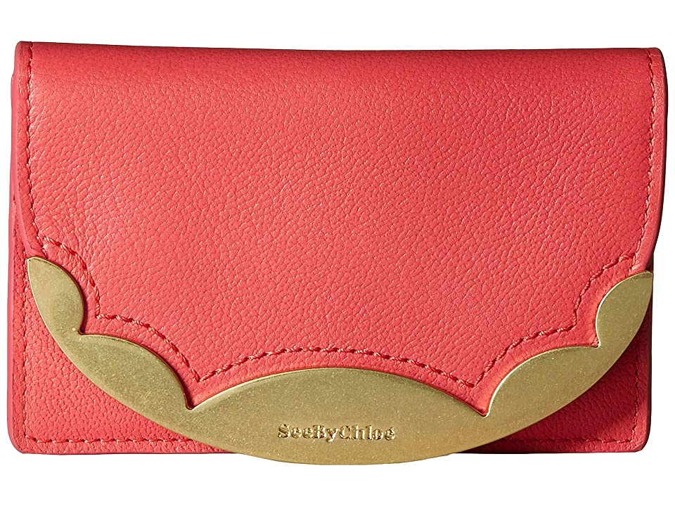 See by Chloe Brady Small Wallet (Ardent Pink) Wallet Handbags
