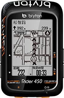 Bryton Rider 450T GPS Wireless GPS 78+ Black ANT+/BLE