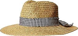 San Diego Hat Company UBF1109 Fedora with Novelty Bow Band