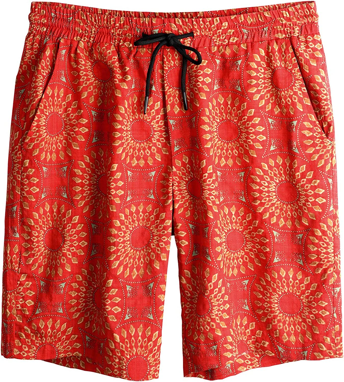 VATPAVE Mens Swim Trunks Summer Board Shorts Casual Drawstring Beach Bathing Suit Shorts