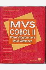MVS Cobol II: Power Programmer's Desk Reference (IBM Mainframe S) Paperback