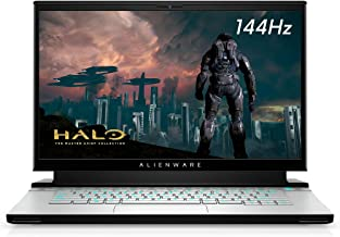 New Alienware m15 R3 15.6inch FHD Gaming Laptop (Luna Light) Intel Core i7-10750H 10th Gen, 16GB DDR4 RAM, 512GB SSD, Nvidia GeForce RTX 2060 6GB GDDR6, Windows 10 Home (AWm15-7272WHT-PUS)