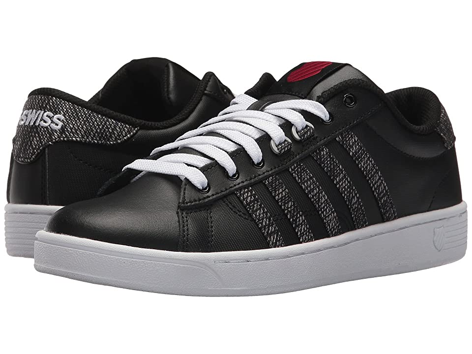 K-Swiss Hoke CMF (Black/White/Chili Pepper) Women