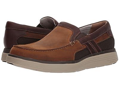 Clarks UnAbode Free (Light Tan Leather) Men
