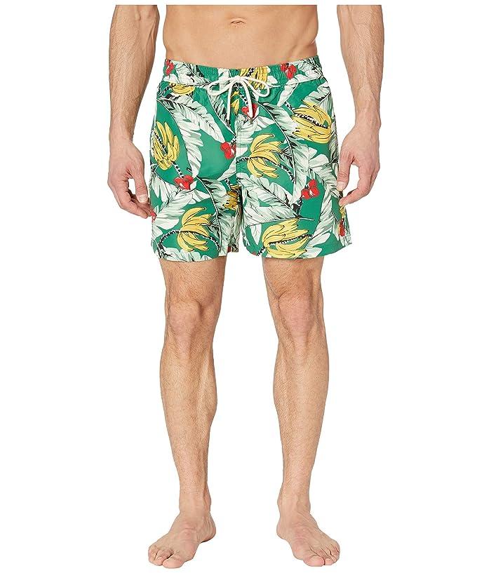 Polo Ralph Lauren Traveler Swim Trunks (Tropical Banana) Men