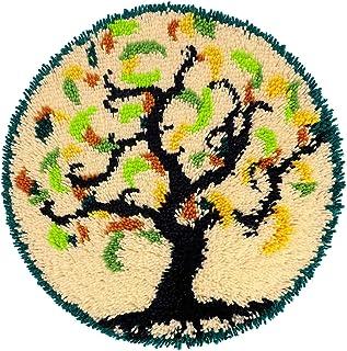 Lanrui Kits de Crochet pour Adultes pour Adultes DIY Crochet Fil Kits avec durée de Vie imprimée Toile DIY Tapisserie Brod...