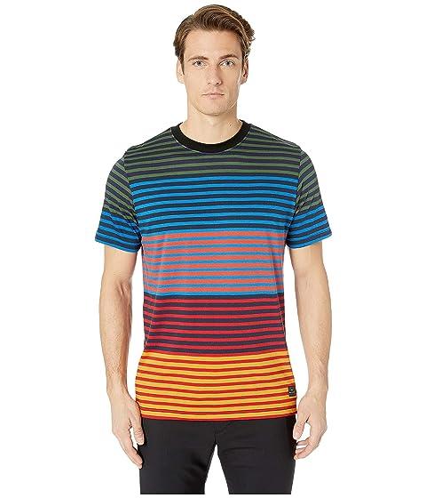 Paul Smith Regular Fit T-Shirt Multi Block Stripe