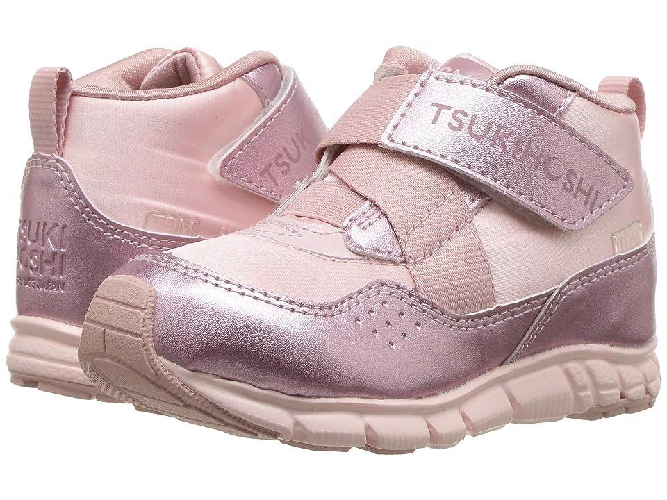 Tsukihoshi Kids Tokyo (Toddler/Little Kid) (Pink/Rose) Girls Shoes