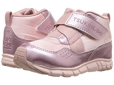 Tsukihoshi Kids Tokyo (Toddler/Little Kid) (Pink/Rose) Girls Shoes