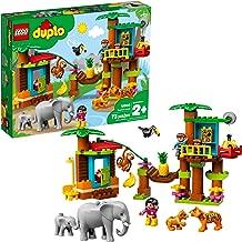 LEGO DUPLO Town Tropical Island 10906 Building Bricks, New 2019 (73 Pieces)