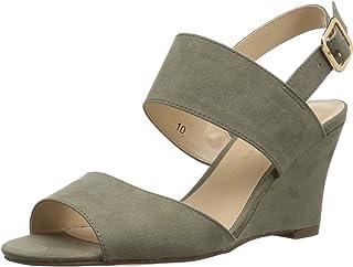 a57a5446e Amazon.com  Green - Platforms   Wedges   Sandals  Clothing