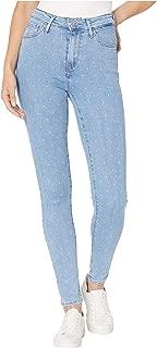 black polka dot jeans