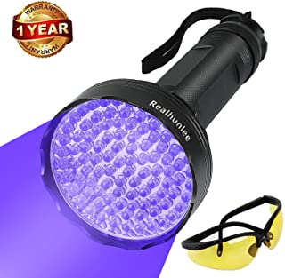 UV Black Light Flashlight, Super Bright 100 LED #1 Best Pet Dog Cat Urine Detector light..