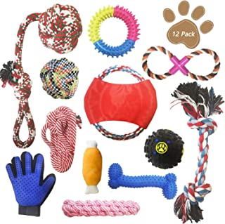 dog toys and clothes