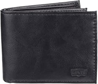 Levis Mens Wallet, Card Case & Money Organizer