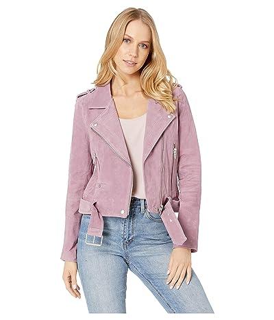 Blank NYC Suede Moto Jacket (Lilac) Women