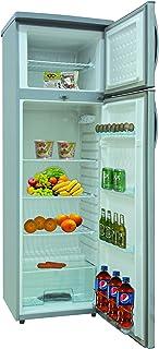 Nikai 320L Double Door Defrost Refrigerator Silver -NRF320DN3M