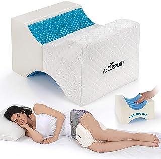 Abco Tech Almohada de espuma de gel para rodilla – Abraza