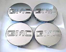 GMC CHROME CENTER CAPS Yukon Denali Sierra 3.25