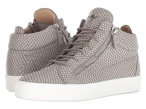 Giuseppe Zanotti May London Croc Print Mid Top Sneaker