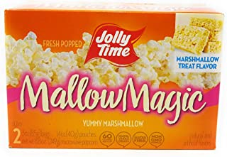 Jolly Time Mallow Magic Marshmallow Flavor Microwave Popcorn, 2 - Count Boxes (Pack of 3)