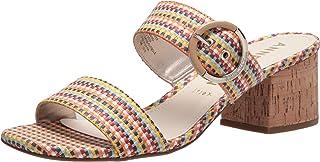 Anne Klein Women's Barras Heeled Sandal, Multicolor, 11