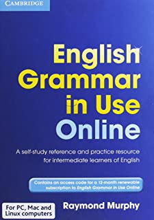English Grammar in Use Online (Access Code Pack): A Self-study Reference and Practice Book for Intermediate Students of En...