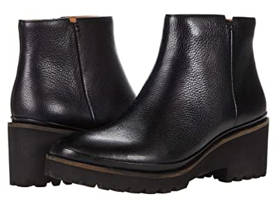 Gentle Souls by Kenneth Cole Mona Bootie (Black Leather) Women