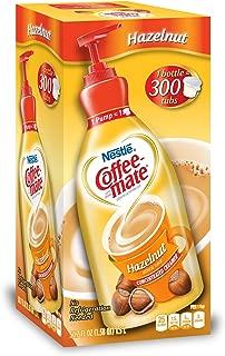 Nestle Coffee-mate Coffee Creamer, Hazelnut,L liquid pump bottle, 50.7 Fl. Oz (Pack of 1)