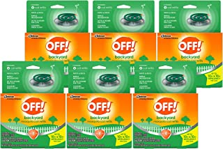 Off!. S C Johnson Country Fresh Scent Mosquito Coil III Refills, 6 Refills (Pack of 6)
