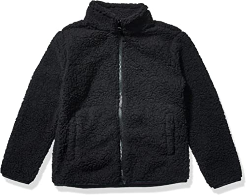 Amazon Essentials Girl's Polar Fleece Lined Sherpa Jacket