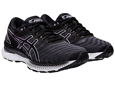 ASICS GEL-Nimbus(r) 22 (Black/Lilac Tech) Women