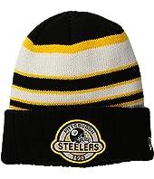 New Era Striped Select Pittsburgh Steelers
