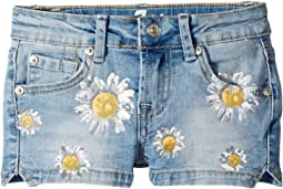 7 For All Mankind Kids Daisy Short Shorts (Little Kids)