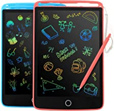 2 Pack LCD Writing Tablet for Kids - Colorful Screen Drawing Board 8.5inch Doodle Scribbler Pad Learning Educational Toy -...