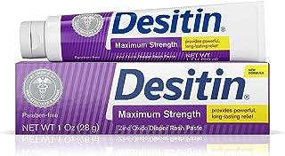 Desitin Diaper Rash Maximum Strength Original Paste, Travel Size, 1 Oz. Tube