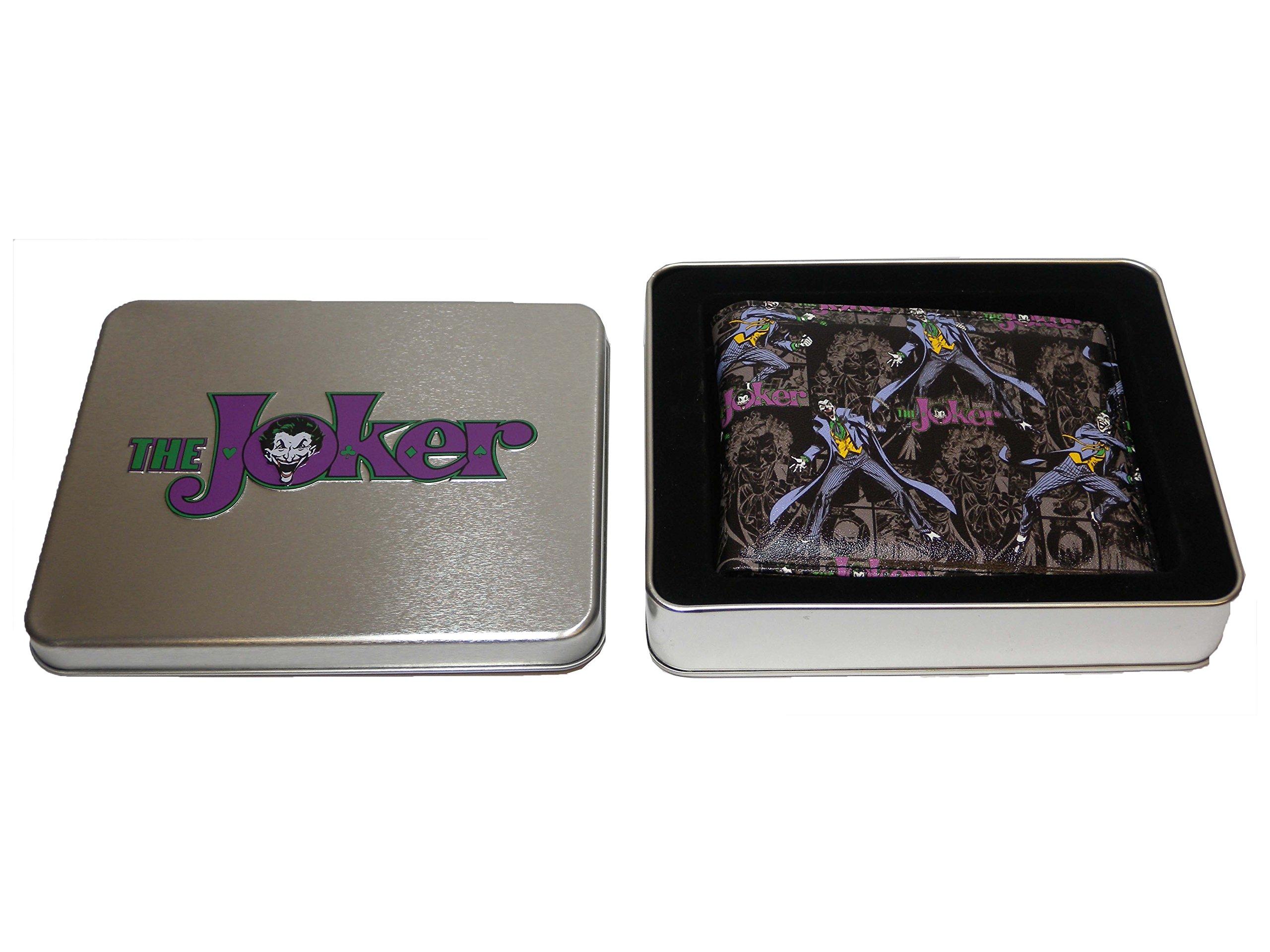 Batman Cartera con diseño de Joker Wicked, Incluye Caja metálica: Amazon.es: Juguetes y juegos