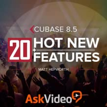 20 New Features For Cubase 8.5 Course By Ask.Video