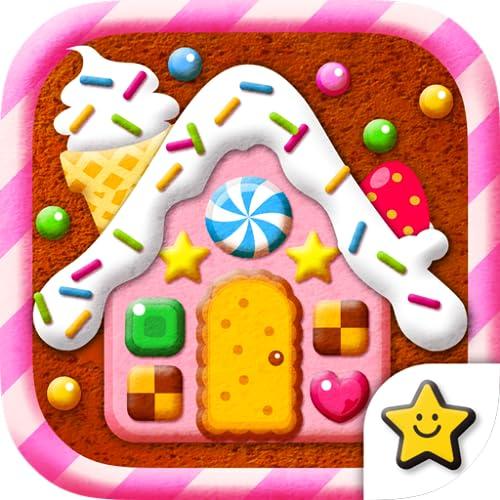 『おかしの家をつくろう!-お仕事体験知育アプリ』の1枚目の画像
